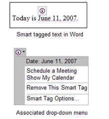 Smart Tag Microsoft Wikipedia