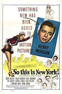 <i>So This Is New York</i> 1948 film by Richard Fleischer