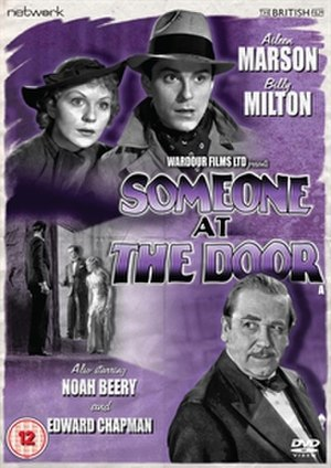 Someone at the Door (1936 film) - DVD cover