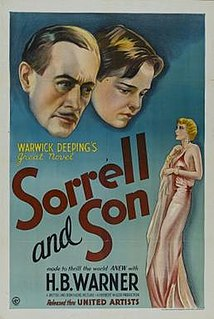 <i>Sorrell and Son</i> (1934 film)
