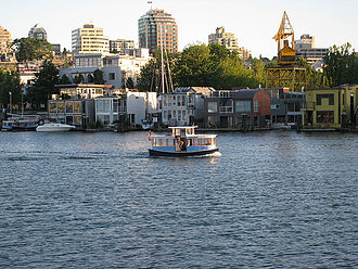 False Creek - False Creek Ferry