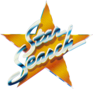 Star Search - The original Star Search logo, used from 1983 to 1994.