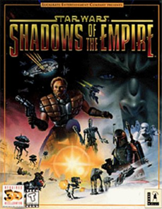 Star Wars: Shadows of the Empire (video game) - North American cover art