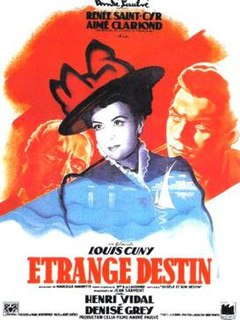 <i>Strange Fate</i> 1946 film by Louis Cuny