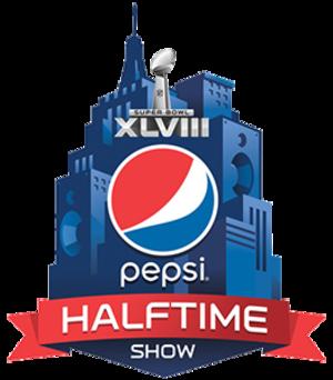 Super Bowl XLVIII halftime show - Image: Super Bowl 48Halftime Logo