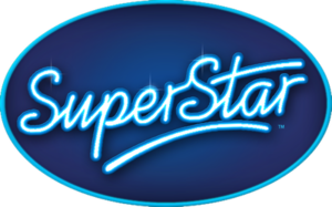 Idols (TV series) - The logo of SuperStar, which was used by German, Czech, and Slovakian versions of Idols.