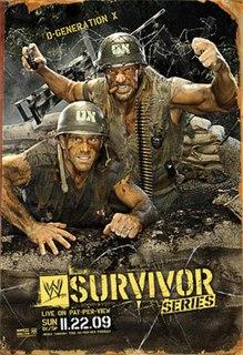 Survivor Series (2009) 2009 World Wrestling Entertainment pay-per-view event