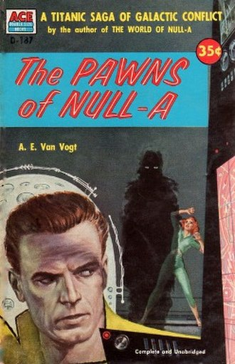 The Pawns of Null-A - Cover of the first standalone edition (under alternative title)