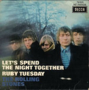 Let's Spend the Night Together - Image: The Rolling Stones Lets Spend The Night Together French 7Inch Single Cover