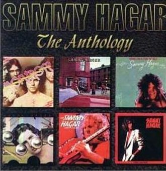 Anthology (Sammy Hagar album) - Image: The Anthology Hagar