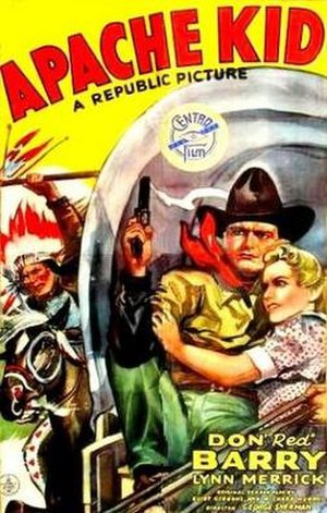 The Apache Kid (1941 film) - Theatrical release poster