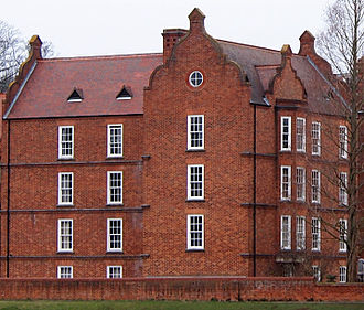 John Bamborough - The Bamborough Building (opened in 1986) of Linacre College, Oxford.