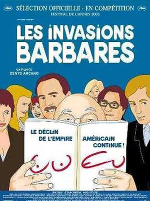The Barbarian Invasions - Original film poster