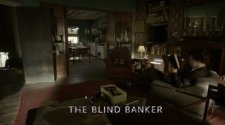 The Blind Banker 2nd episode of the first season of Sherlock