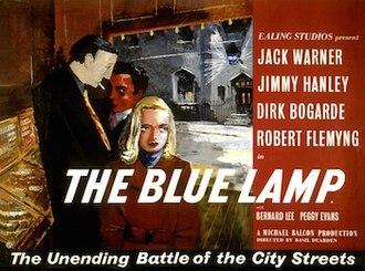 The Blue Lamp - UK original quad format film poster