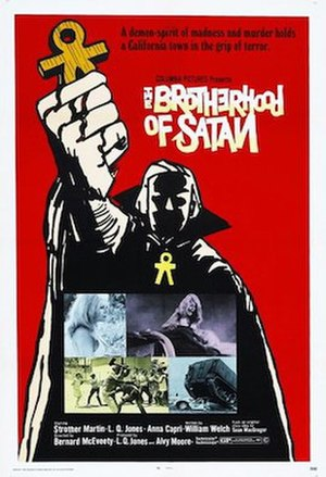 The Brotherhood of Satan - Theatrical release poster