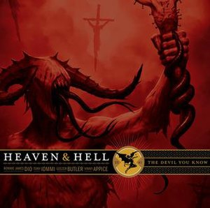The Devil You Know (Heaven & Hell album) - Image: The Devil You Know cover