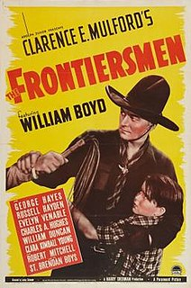 <i>The Frontiersmen</i> 1938 film by Lesley Selander