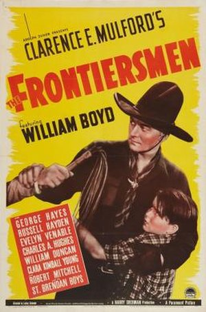 The Frontiersmen - Theatrical release poster
