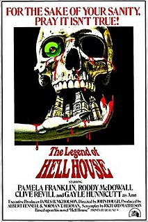 <i>The Legend of Hell House</i> 1973 film by John Hough