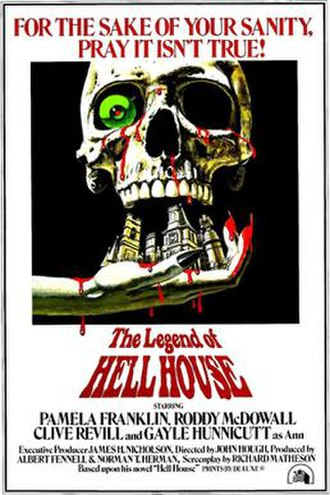 The Legend of Hell House - Theatrical release poster