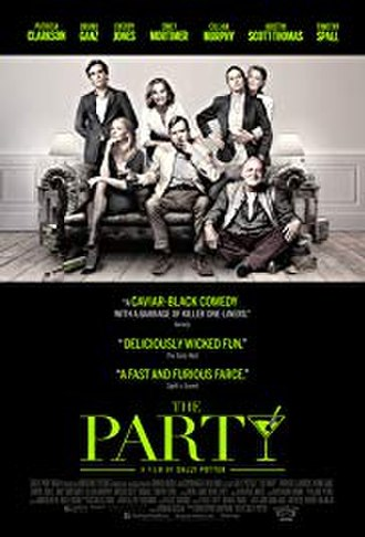 The Party (2017 film) - Theatrical release poster