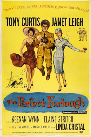 The Perfect Furlough - theatrical release poster