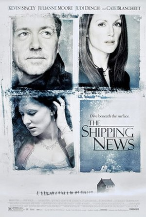 The Shipping News (film) - Theatrical release poster