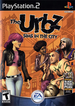 The Urbz: Sims in the City - Image: The Urbz Sims in the City Coverart