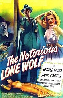 <i>The Notorious Lone Wolf</i>