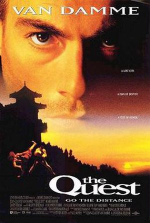 The Quest (film) - Theatrical release poster