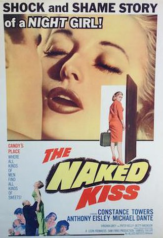The Naked Kiss - Theatrical release poster