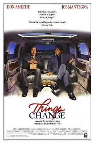 Things Change - Theatrical release poster