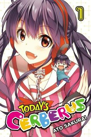 Today's Cerberus - Cover of the first volume (English release)