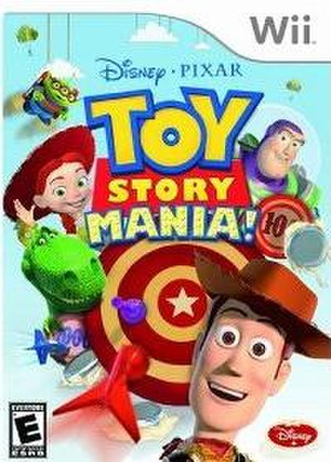 Toy Story Mania! (video game) - Image: Toy Story Mania