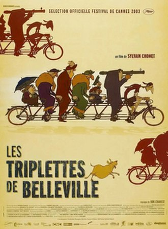 The Triplets of Belleville - French release poster