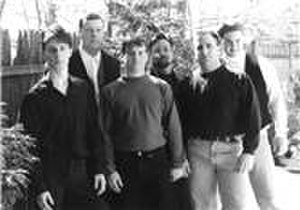 Tristan Park - Left to right: Ray Bowles, Brian Coombes, Jim Turmel, Rick Black, Chuck Dyac, Mike McAdam