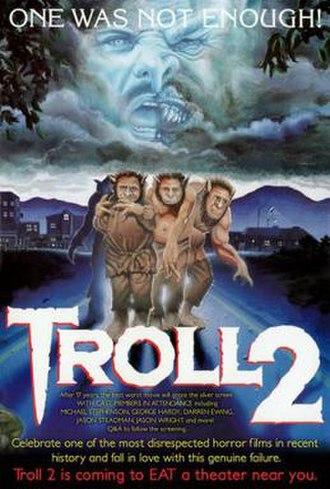 Troll 2 - Re-release poster