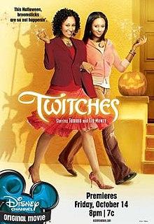 <i>Twitches</i> (film) 2005 film by Stuart Gillard