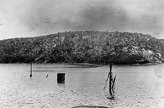 USS Merrimac (1894) - The wreck of USS Merrimac.