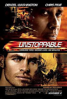 <i>Unstoppable</i> (2010 film) 2010 American action thriller film directed by Tony Scott