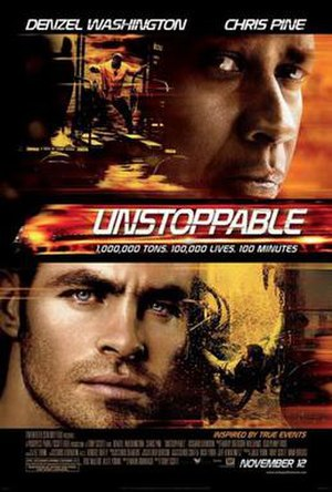 Unstoppable (2010 film) - Theatrical release poster