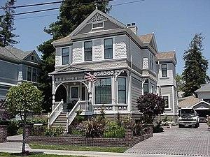 Alameda, California - Victorian house in Alameda