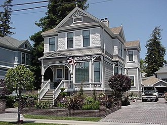 Alameda, California - Victorian house in Alameda