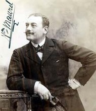 The French baritone, Victor Maurel, who created the role of Tonio.