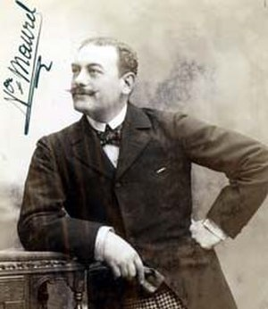 Pagliacci - French baritone Victor Maurel, creator of the role of Tonio