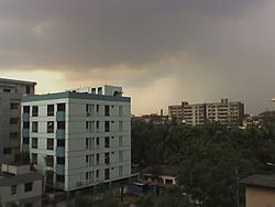 View Of Block-C,Lalmatia