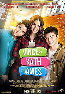 Vince and Kath and James 2016 CamRip