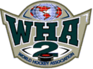 World Hockey Association 2 - Image: WHA2 logo