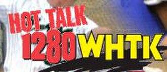 WHTK (AM) - logo through 2008